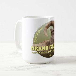 Caneca De Café PESO do NP do Grand Canyon (veado selvagem)