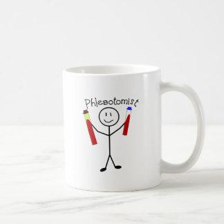 Caneca De Café Pessoa da vara de Phlebotomist