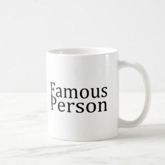 Caneca De Café Pessoa famosa