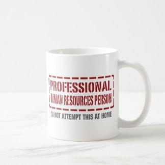 Caneca De Café Pessoa profissional dos recursos humanos