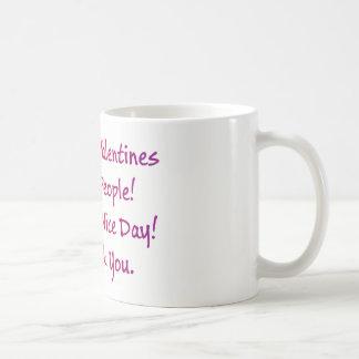 Caneca De Café Pessoas felizes do dia dos namorados! Tenha um dia