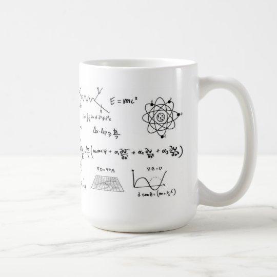Caneca De Café Physics Formulas Coffe Mug