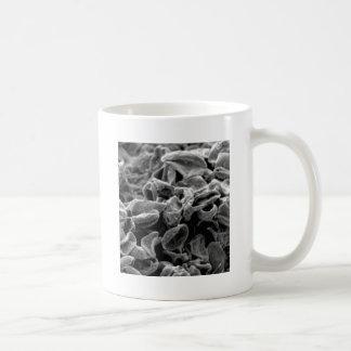 Caneca De Café pilhas ou bactérias pretas