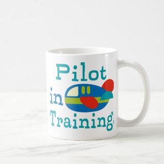 Caneca De Café Piloto personalizado no treinamento
