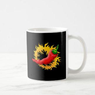 Caneca De Café Pimenta com chama