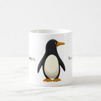 Caneca De Café Pinguim