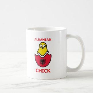 Caneca De Café Pintinho albanês