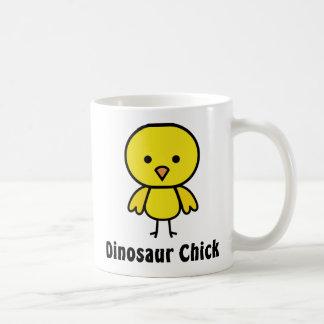 Caneca De Café Pintinho do dinossauro