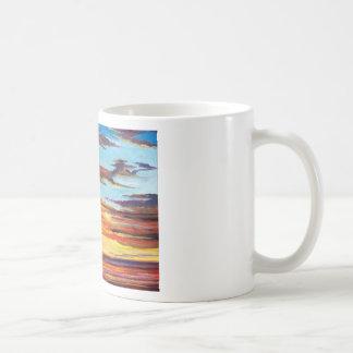 Caneca De Café Pintura acrílica do por do sol