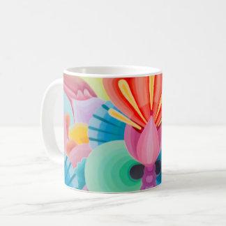 """Caneca De Café Pintura """"amor """" da abstracção"""