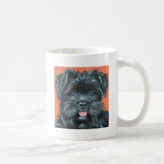 Caneca De Café Pintura de Koda - de Terrier