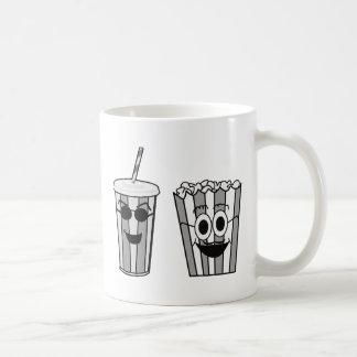 Caneca De Café pipoca e soda