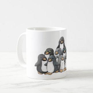 Caneca De Café Pirâmide do pinguim