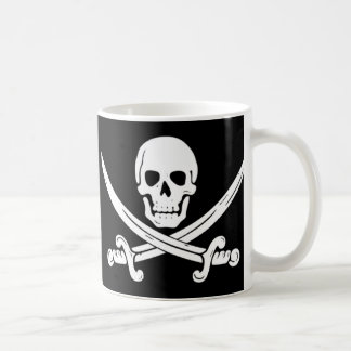 Caneca De Café Pirata - morte antes do Decaf