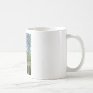 Caneca De Café Pista nos campos da papoila - Claude Monet