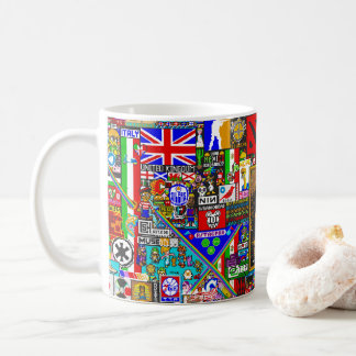 Caneca De Café pixel art by r/place
