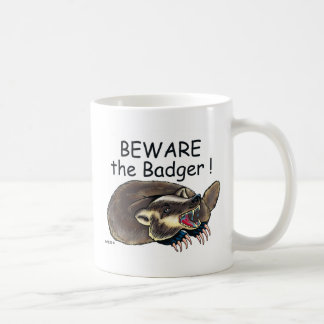 Caneca De Café PlainBadger_black