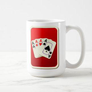 Caneca De Café Plataforma de cartões de jogo