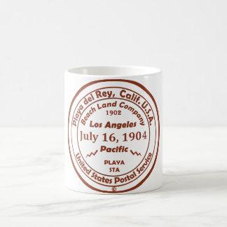 Caneca De Café Playa del Rey é nascido - 16 de julho de 1904