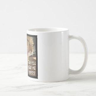 Caneca De Café pode você ouvir-me agora?