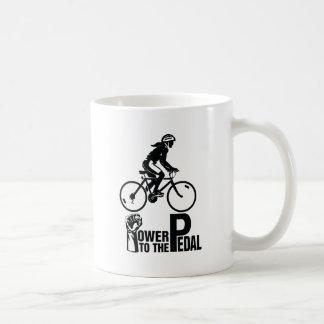 Caneca De Café Poder ao pedal