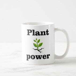 Caneca De Café Poder da planta