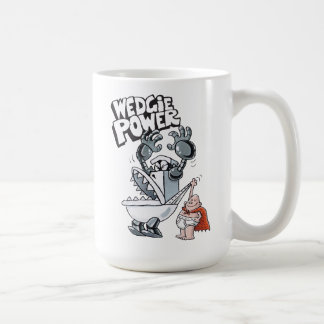 Caneca De Café Poder do capitão Cuecas | Wedgie