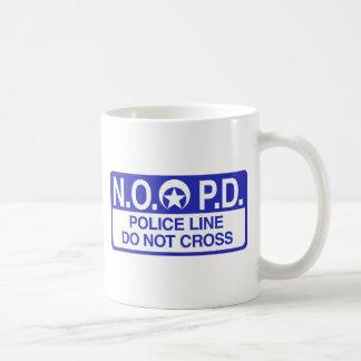 Caneca De Café Polícia de Nova Orleães