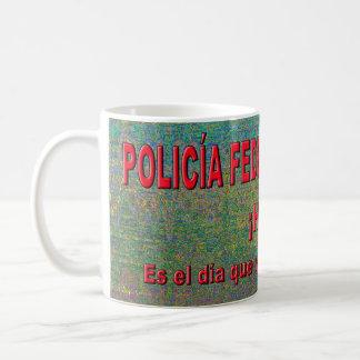 CANECA DE CAFÉ POLICÍA FEDERAL DEL AMOR