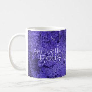 Caneca de café polonesa do amor
