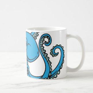 Caneca De Café Polvo do azul de oceano