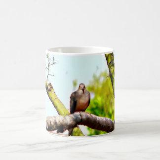 Caneca De Café Pombas em um copo de café clássico do membro