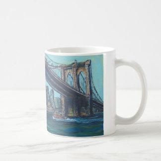 Caneca De Café Ponte de Brooklyn