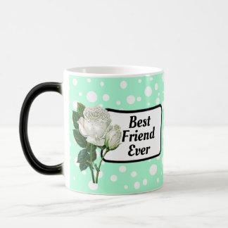 Caneca de café pontilhada do melhor amigo polca
