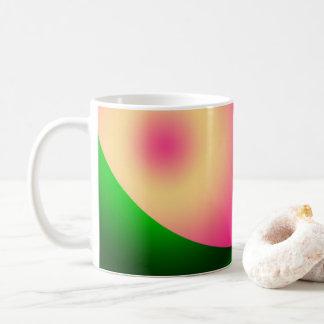 Caneca De Café ponto cor-de-rosa