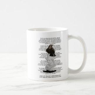 Caneca De Café Ponto de entrada de Edgar Allen o poema do corvo