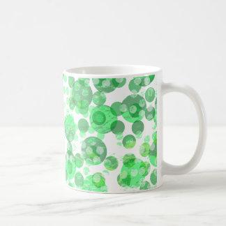 Caneca De Café Pontos verdes afligidos
