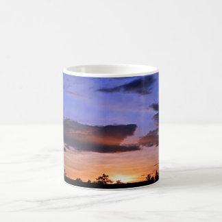 Caneca De Café Por do sol colorido por Shirley Taylor
