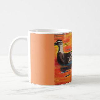 Caneca De Café Por do sol de Duckie