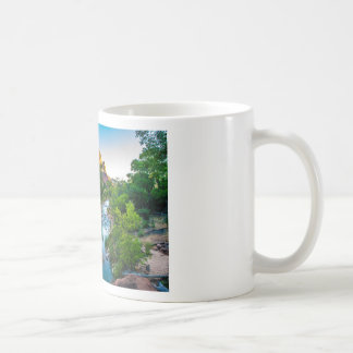 Caneca De Café Por do sol no rio em Zion, Utá