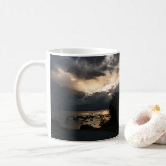 Caneca De Café Por do sol Patagonian nebuloso