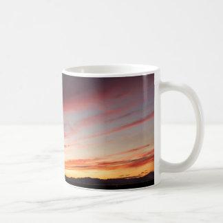 Caneca De Café Por do sol sereno