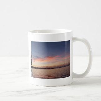 Caneca De Café Por do sol sobre a baía de Florida, Largo chave FL