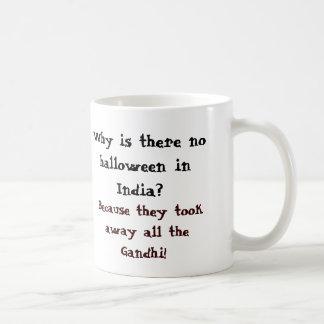 Caneca De Café Por que há nenhum Dia das Bruxas em India?