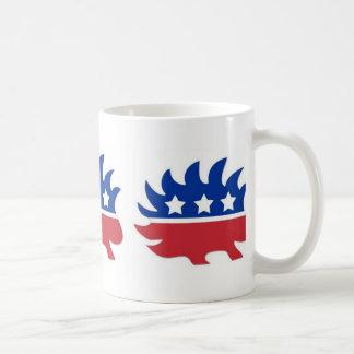 Caneca De Café Porco- do libertário