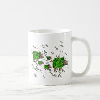 Caneca De Café porcos britânicos da conversão