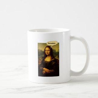 Caneca De Café Porcos- de Mona Lisa