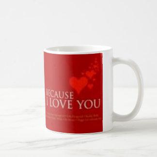 Caneca De Café porque eu te amo