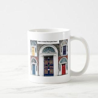 Caneca De Café Portas antigas de Ireland - Dublin