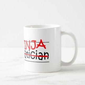 Caneca De Café Posição Ninja - matemático